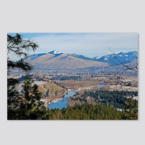 Missoula Valley Postcards (Package of 8)