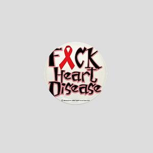 Fuck-Heart-Disease Mini Button