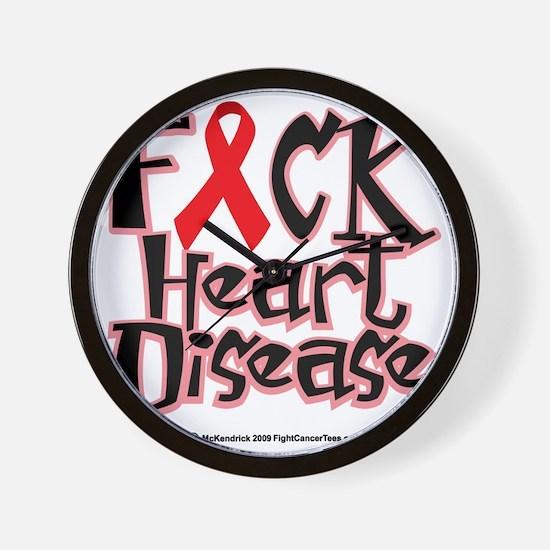 Fuck-Heart-Disease Wall Clock