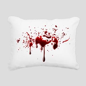 BLOODY Rectangular Canvas Pillow
