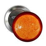 "Sun 2.25"" Button (100 pack)"