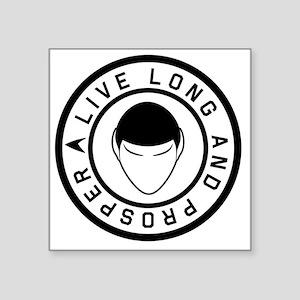 "livelong3 Square Sticker 3"" x 3"""