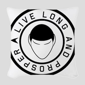 livelong3 Woven Throw Pillow