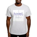 Sanibel Sailboat - Ash Grey T-Shirt