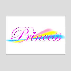 Rainbow Princess Mini Poster Print