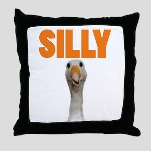 SillyGoose Throw Pillow