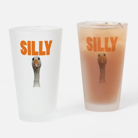 SillyGoose Drinking Glass