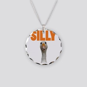 SillyGoose Necklace Circle Charm
