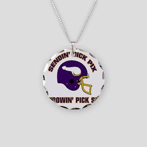 shirt1front copy Necklace Circle Charm