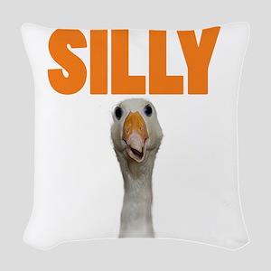 SillyGoose Woven Throw Pillow
