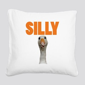 SillyGoose Square Canvas Pillow