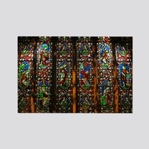 christ church cathedral window 1 Rectangle Magnet