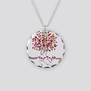 tree-new-colors Necklace Circle Charm
