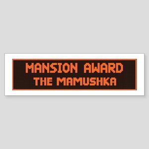 Mamushka Bumper Sticker