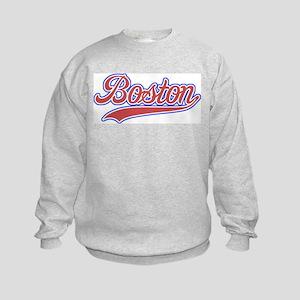 Retro Boston Kids Sweatshirt