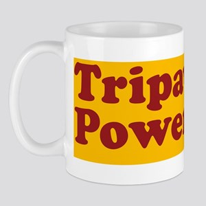 tripawd power sticker gsd front black Mug