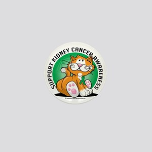 Kidney-Cancer-Cat Mini Button