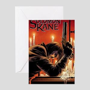 Solomon Kane cover Greeting Card