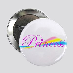 Rainbow Princess Button