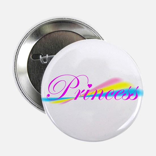 Rainbow Princess Button