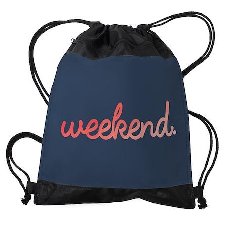Weekend Drawstring Bag