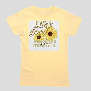 Lifes Good 02 Girl's Tee