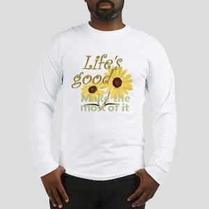 Lifes Good 02 Long Sleeve T-Shirt