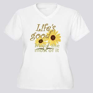 db2a4c052ea Life Is Good Women s Plus Size T-Shirts - CafePress