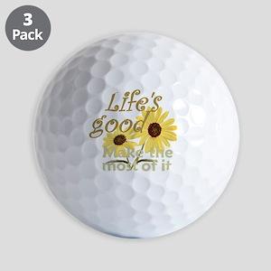 Lifes Good 02 Golf Balls