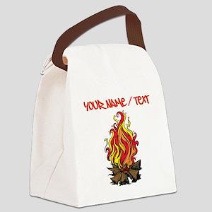 Bonfire Canvas Lunch Bag