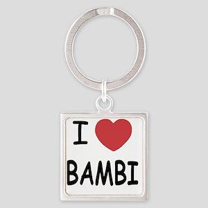 BAMBI Square Keychain