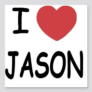 "JASON Square Car Magnet 3"" x 3"""