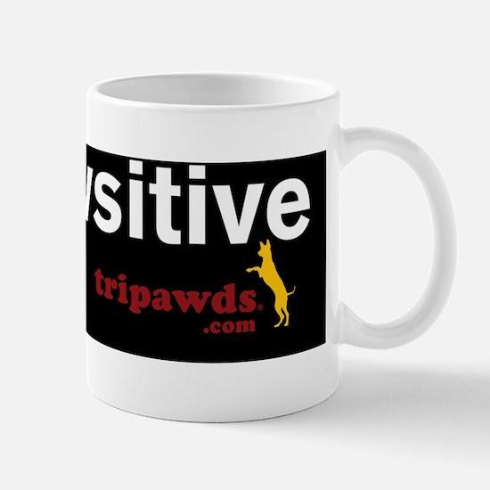 be pawsitive black Mug