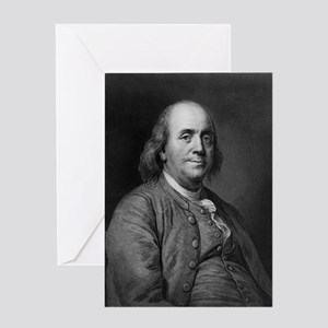 Franklin-Benjamin-LOC Greeting Cards