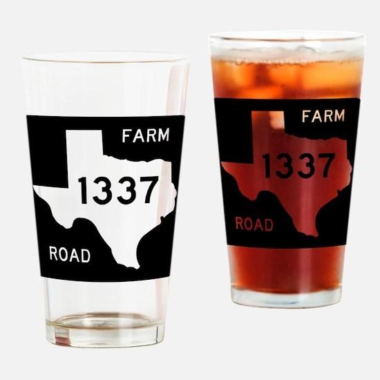 Texas_FM1337_101510b3c Drinking Glass
