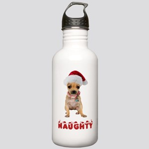 Naughty Chihuahua Stainless Water Bottle 1.0L