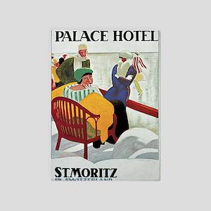 St Moritz Palace Hotel 5'x7'Area Rug