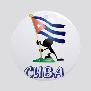 CUBA MAN 0 Round Ornament