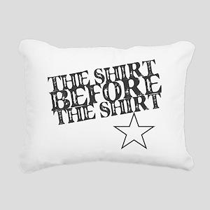 SHIRTB4TS Rectangular Canvas Pillow