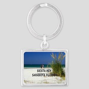 Siesta Key 8x6 Landscape Keychain