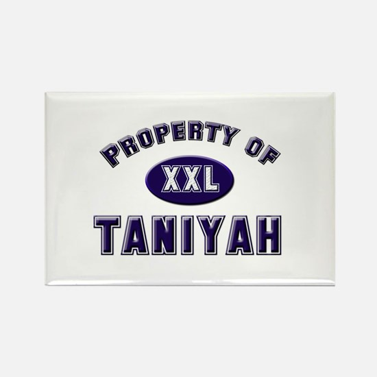 Property of taniyah Rectangle Magnet