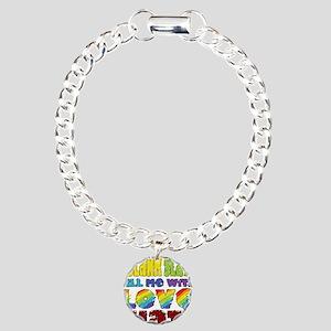 Pride t-shirt - Blank Sl Charm Bracelet, One Charm