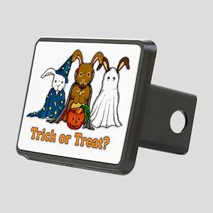 Halloween Rabbits Rectangular Hitch Cover