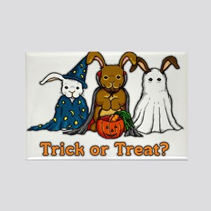Halloween Rabbits Rectangle Magnet