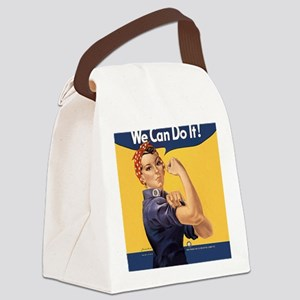 we-can-do-it_sb Canvas Lunch Bag