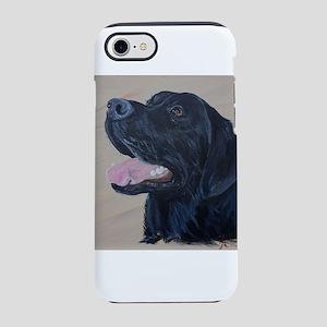 Black Labrador iPhone 7 Tough Case