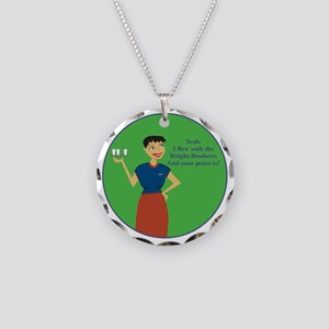 WBBR Necklace Circle Charm
