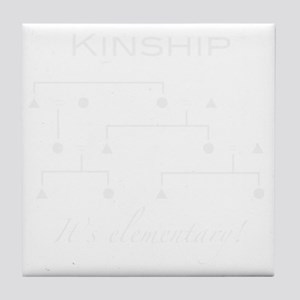 kinship Tile Coaster