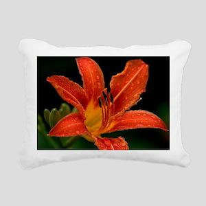 Tiger Lily Rectangular Canvas Pillow