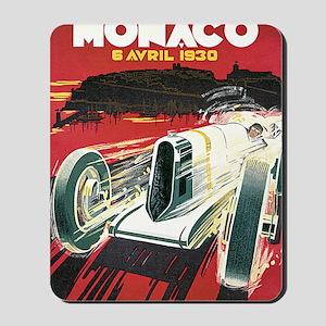 Monaco Grand Prix 1930 1 Mousepad